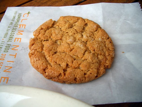 Clem peanut butter cookie