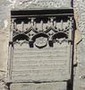 Mittelalterliche Inschrift im Innern der Porta Nigra