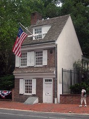 Betsy Ross House Exterior