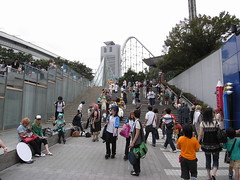 Tokyo Dome City Cosplayers