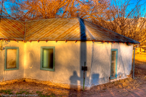 Old House and Shadows
