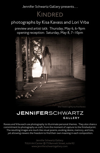 Kindred, at Jennifer Schwartz Gallery, Opens May 6th