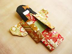 origami paper doll Ami (umeorigami) Tags: japan japanese origami geisha yukata kimono paperdoll washi chiyogami origamidoll chiyogamidoll