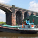 James Jackson Grundy at Frodsham viaduct, river Weaver 18/05/10