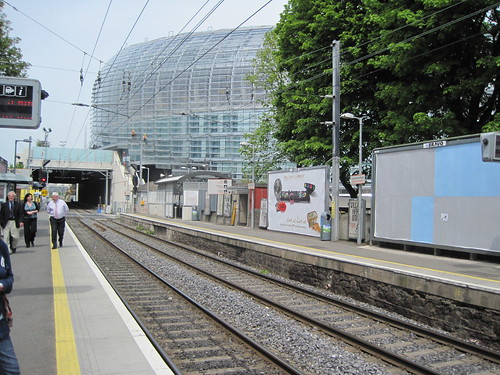 DART rail and Landsdowne Rugby Ground
