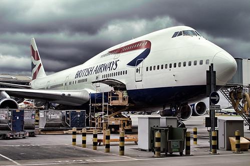 BA 747 by .curt.