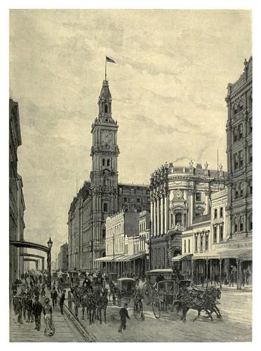 025-Melbourne-Elizabeth street y la oficina de correos-Australasia illustrated (1892)- Andrew Garran