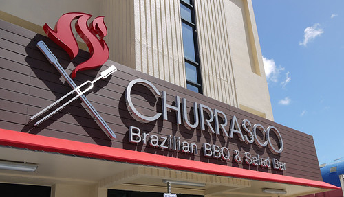 churrasco sign