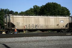 Break (Hear45) Tags: railroad minnesota train graffiti break minneapolis mpls twincities mn freight aerosolart graffitiart 612 fr8 benching freightgraffiti freightart fr8art fr8graffiti