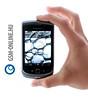 Blackberry Torch 9800 kézben csukva