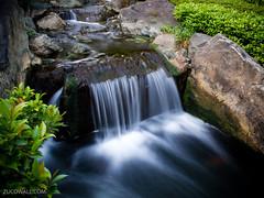 Asakusa small waterfall (Peter Zuco) Tags: motion nature water horizontal canon waterfall agua slow dream motionblur asakusa acqua g11