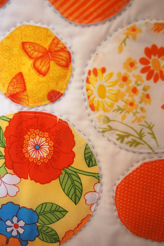 Oranges Mini-Quilt
