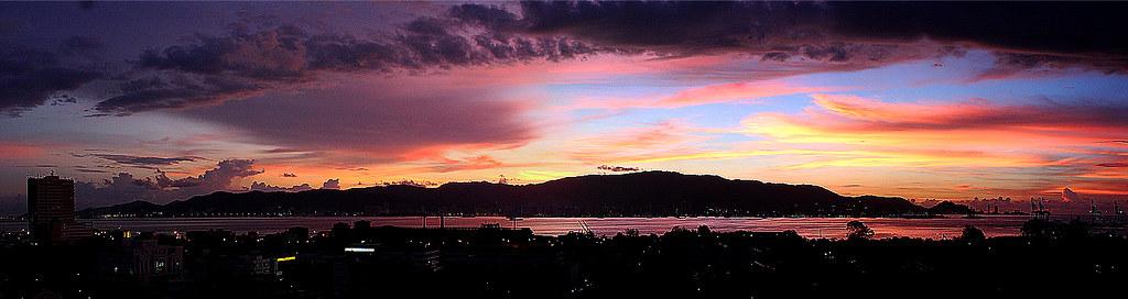 Butterworth Sunset Panorama