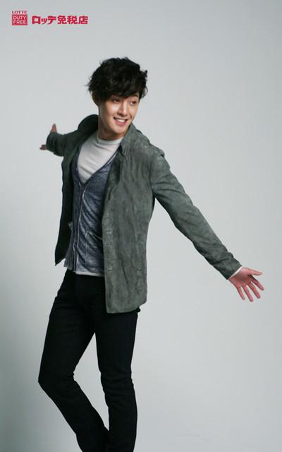 Kim Hyun Joong Lotte Duty Free Photoshoot (Japan)