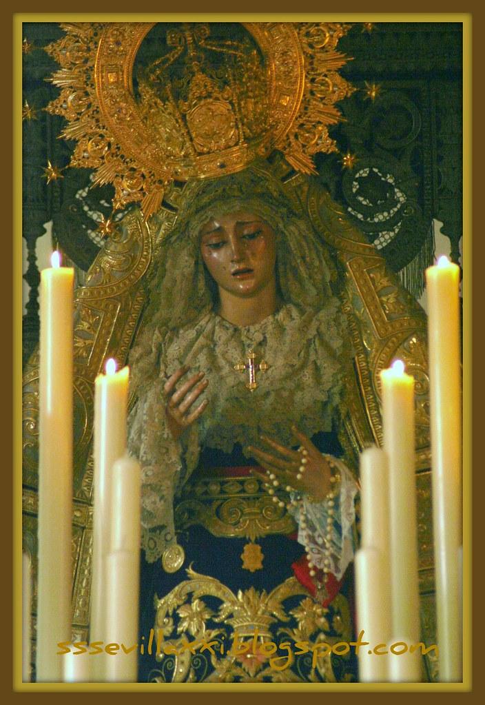 Nuestra Señora de la Angustia, Martes Santo 2011