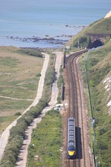 Javelin at Samphire Hoe (Jelltex) Tags: emu javelin samphirehoe jelltex jelltecks class395 southeasternhighspeed