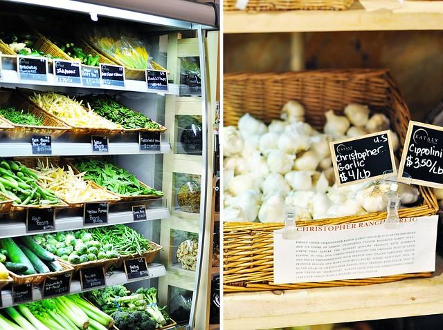 Eataly's produce market