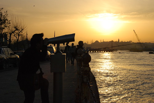 Sunset at Sea of Marmara (Marmara Denizi)