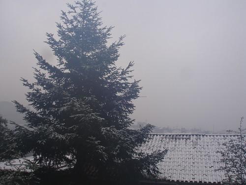Neve no Concelho de Braga