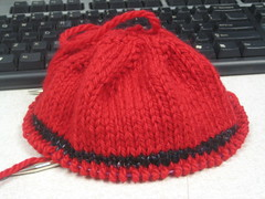 Red Hat with Homespun