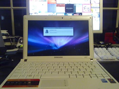 01/14/2009 - NC10 running Software Update
