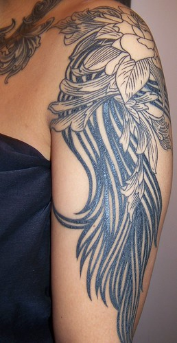 more shoulder & arm tattoo