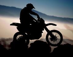 Motocross Silhouette (buffalo_jbs01) Tags: andy silhouette metcalf yamaha dirtbike d200 motocross mx sbr wr450f