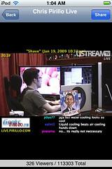 uStream - Chris Pirillo Live