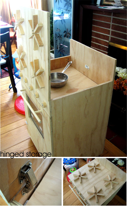Hinged Storage