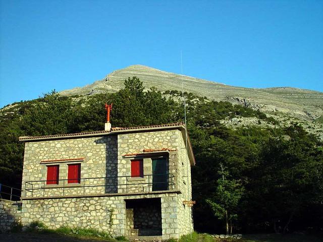 Πελοπόννησος - Λακωνία - Ταΰγετος Το Καταφύγιο και η κορυφή Προφήτης Ηλίας