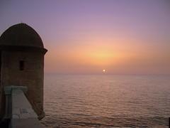 Alameda (Erdekay) Tags: mar cdiz murallas aterdecer