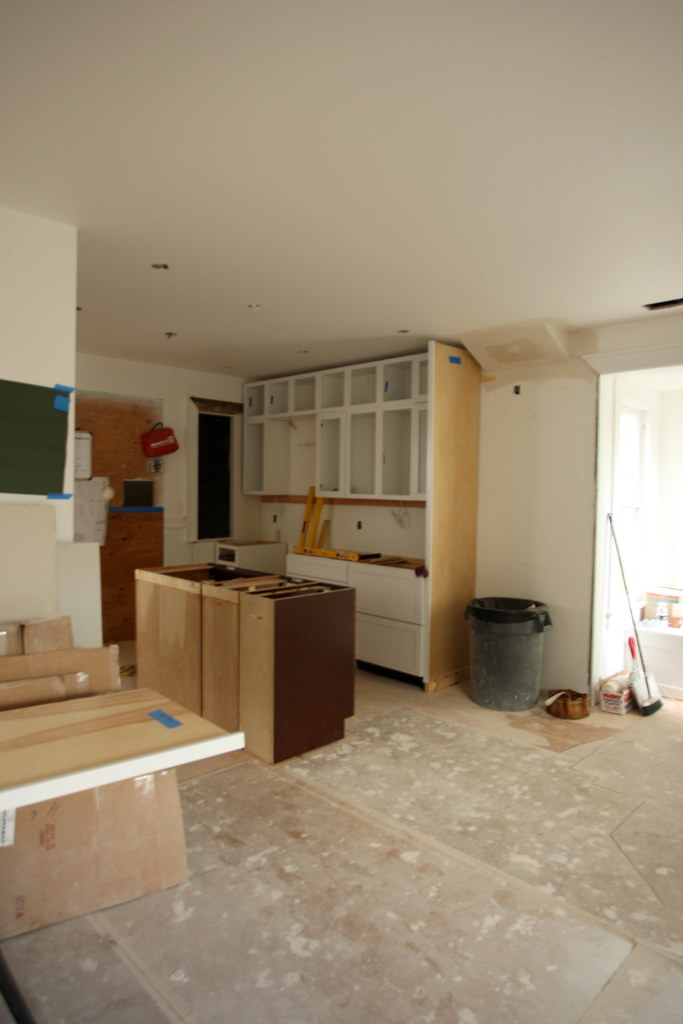 View from Living (Cabinets In)