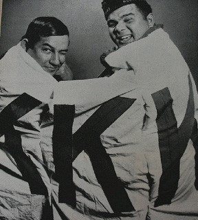 Lumbee Tribe captures KKK banner; Charlie Warriax and Simeon Oxendine, From ImagesAttr