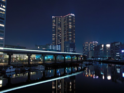 Tokyo Bay canal