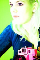 """Metamorphoses"" 365 days photo 122 (Jeanique) Tags: pink blue selfportrait green me holga days photoaday daphne 365 friday selfphoto zelfportret daf dagen 365days dafphoto jeanique 365dagen ikbendaf zelffoto avatardoorikbendaf"