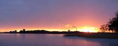 Panorama (Annurgaia) Tags: winter sunset anna panorama snow ice canon suomi finland photography purple talvi finlandia munkkiniemi hietanen annurgaia annahietanen annahietanenphotography sunsetinhelsinki sunsetinfinland allrightsreservedbyannurgaia