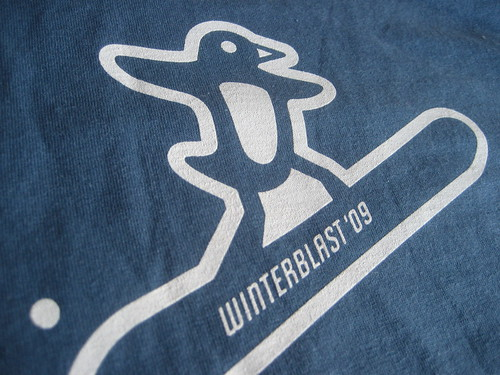 Winterblast '09 T-Shirt: Penguin 3