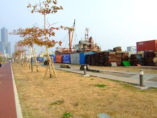 高雄市自行車道_西臨港線_50_第三船渠的船景.pr