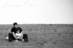 *Pai & Filha* (♫ Photography Janaina Oshiro ♫) Tags: digital studio square pb criança menina jm momentos nikond80 paiefilhajapan