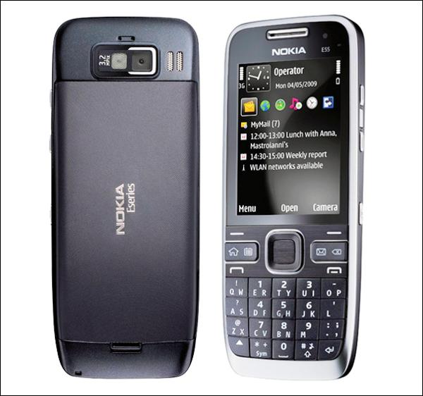 Nokia E55,E55,nokia,actualite,tests,fiche technique,Acheter en ligne,produits,Logiciels,OVI,Music Store,mobile,portable,phone,music,accessoires,prix,downloads,telecharger,software,themes,ringtones,games,videos,