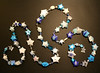 Silvery Blue Star Garland