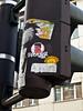 want some pixeljuice? (Cyraphine) Tags: street streetart art graffiti sticker 23 mainz ampel mayence bleichenviertel pixeljuice pixeljuice23 grosebleiche
