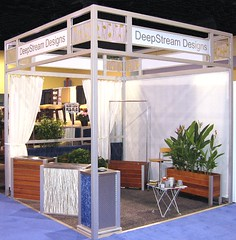 Trade Show Booth (DeepStream Designs) Tags: cubicle cabana signage kiosk railing glazing veritas crl 8020 booth tradeshowbooth box light aluminum set wall system architectural structural lumicor deepstream tradeshowboothdesign panel extrusion tradeshow erector reynolds polymer tslots 3form antigravity facadesystems americantradeshowboothextrusion