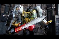 Transformers Masterpiece MP-08 - Grimlock 04 (Ed Speir IV) Tags: toy actionfigure robot dinosaur cartoon transformers figure takara autobot masterpiece hasbro grimlock