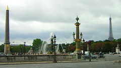 Place de la Concorde (cadviodi) Tags: paris france tower tour place eiffeltower eiffel toureiffel concorde placedelaconcorde