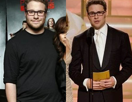Seth Rogan before/after