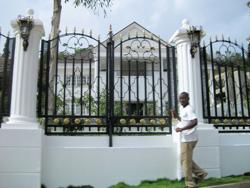 Houses And Floor Plans Best Fence Design In Nigeria