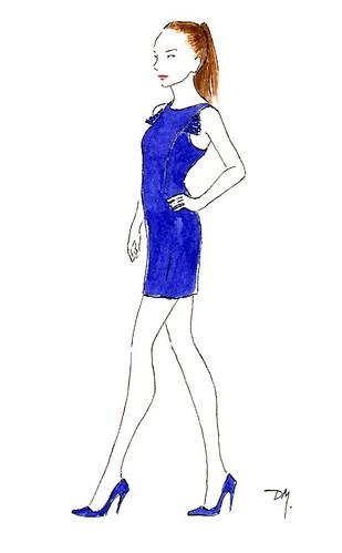 dress designed by Jessica Biffi
