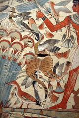 Nebamun hunting in the marshes ( Libyan Soup) Tags: birds cat painting duck chat egypt butterflies egyptian papyrus egipto britishmuseum fresco gypten egitto hieroglyphics egypte egypten ancientegypt antiquity marshes wallpaintings egiptus egipt egyptianart gypte hieroglyphic lotusflowers nebamun egypti  tombart tombpainting egyptianpainting egiptio egiptujo michaelcohengallery nebamunwallpaintings tombchapel tombchapelofnebamun lpantiquity