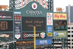 park white chicago sports jackie baseball sox detroit tigers robinson whitesox comerica mlb comericapark detroittigers chicagowhitesox detroitmi jackierobinsonday april152009